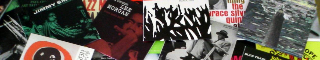 加持顕のジャズCD棚